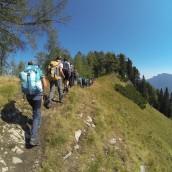 Srečanje udeležencev poletnega tabora v Logarski dolini