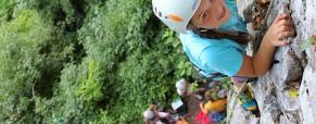 Otroški plezalni tabor – Kotečnik 2014