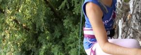 Začetek plezanja za otroke na OŠ Rodica