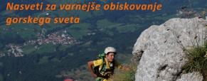 Kako varneje v gore
