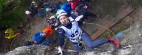 Z domžalsko tekmo zaključen odprti slovensko-hrvaški pokal v lednem plezanju