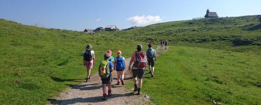 Mali tabor za male planince na Mali planini je uspel :)