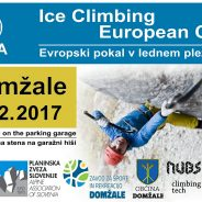Maja Šuštar in Andrej Pečjak pred domžalskim EP v lednem plezanju na 1. programu Radia Slovenija