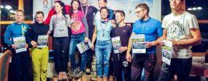 Domžalsko obarvan uvod v novo sezono slovensko-hrvaško-srbskega pokala v lednem plezanju
