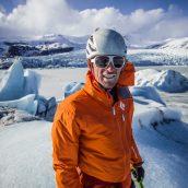 Ledene sanje – predavanje Klemna Premrla pred EP v lednem plezanju Domžale 2017