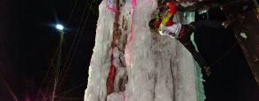 Maja Šuštar zmagovalka OP Avstrije v lednem plezanju