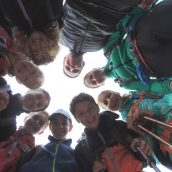 Bili smo ob Bači in ob Krajcarici … ter na planinskih poteh med njima