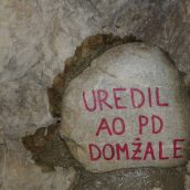 Plezanje pod Šumberkom kar brez vodnička