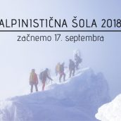 Alpinistična šola AO PD DOmžale 2018