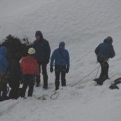 Izpit Alpinistične šole iz zimske tehnike