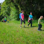 Poročilo: družinski izlet na Žusem