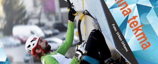 Zaključek SHS pokala v lednem plezanju