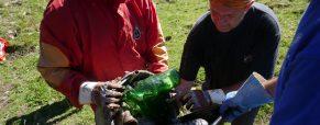 Odstranjevanje odpadkov iz Brezna v Kofci